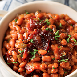 Brown Sugar Bacon Baked Beans