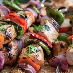Pork Loin Kebabs