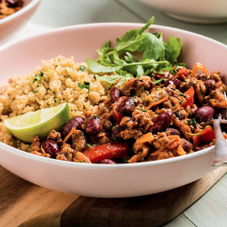 Chili con Carne w/ Quinoa