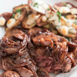 Red Wine Demi-Glace Pot Roast