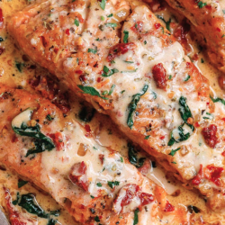 Garlic Tuscan Salmon