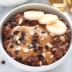 Chocolate & PB Steel Cut Oats