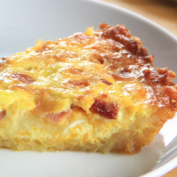 Bacon Hashbrown Quiche