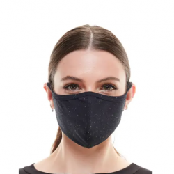 Face Mask - Black Textured