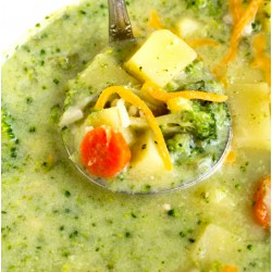 Broccoli + Cheddar Soup