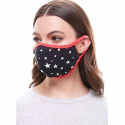 Face Mask - Star Print