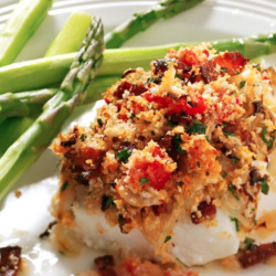 Bacon Baked Haddock