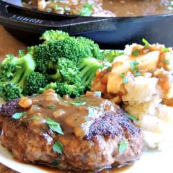 Classic Salisbury Steak