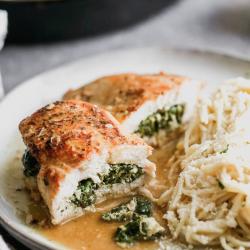 Spinach + Feta Chicken