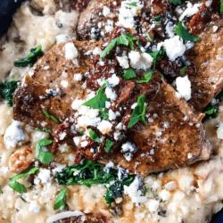 Steak Gorgonzola Risotto