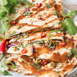 Thai Chicken Quesadilla