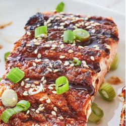 Asian BBQ Salmon Side