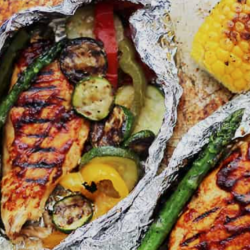 BBQ Chicken & Summer Veggies