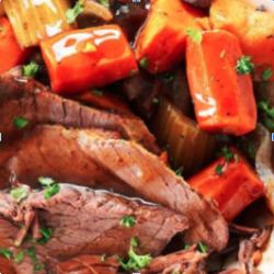 Slow Braised Roast Beef