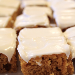 Pumpkin Bar w/ Cream Cheese...